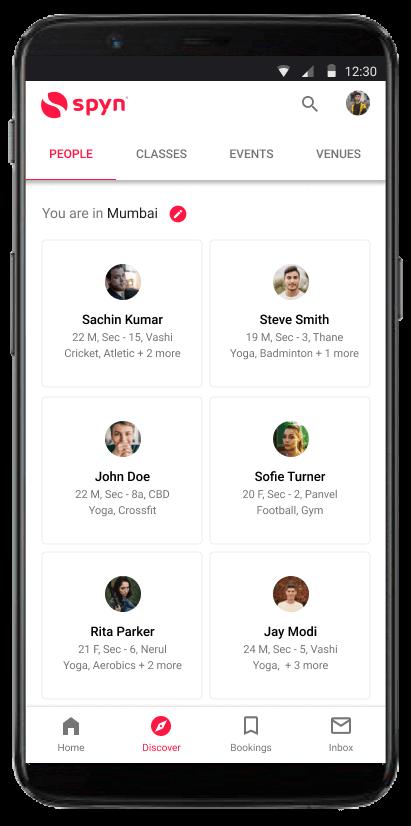 spyn Social mobile screenshot